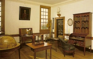 Washington's study at Mt. Vernon