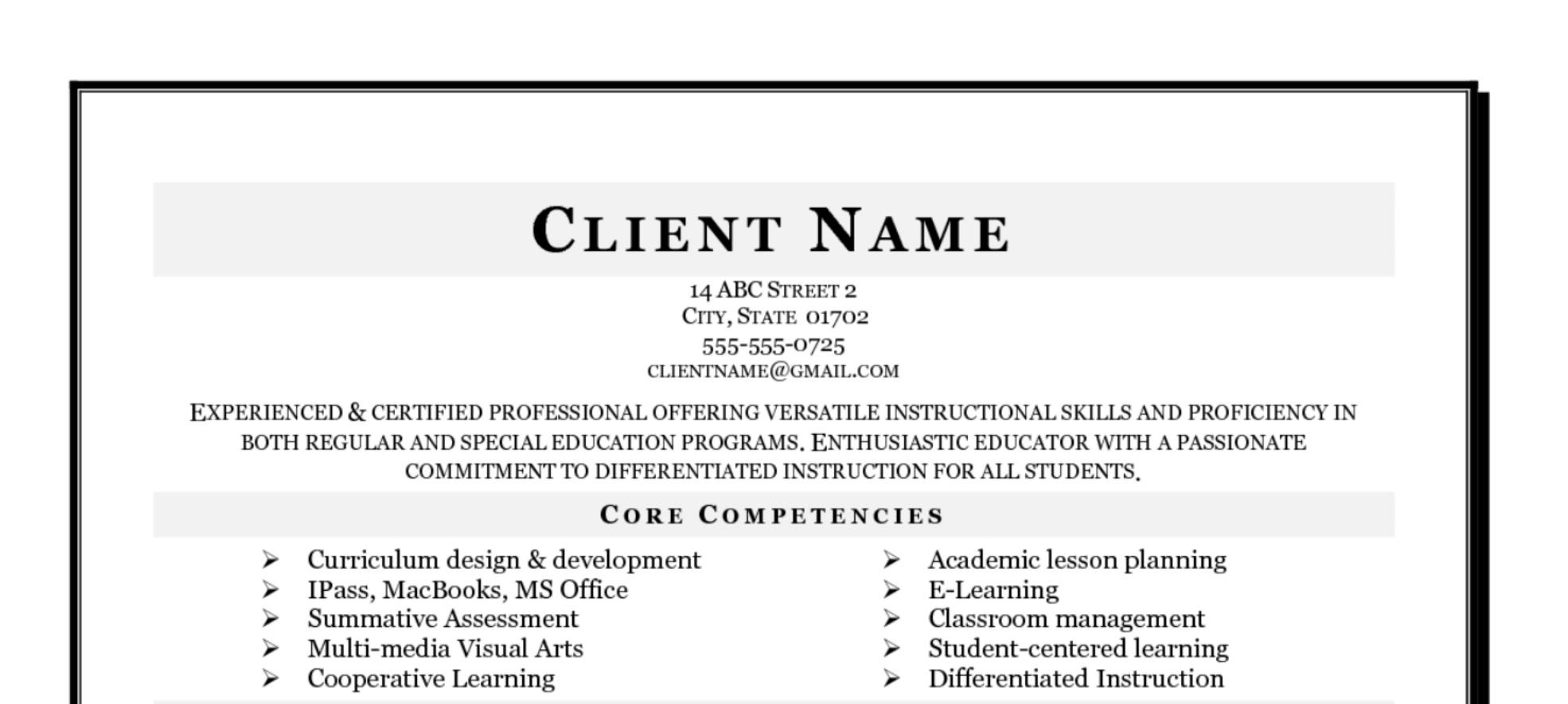 High Quality Hybrid Resume Samples Livmoore Tk Picture Of Heading For Resume Large Size  Heading For Resume